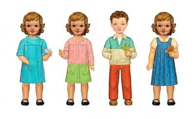 Fall 2010 Paper Dolls