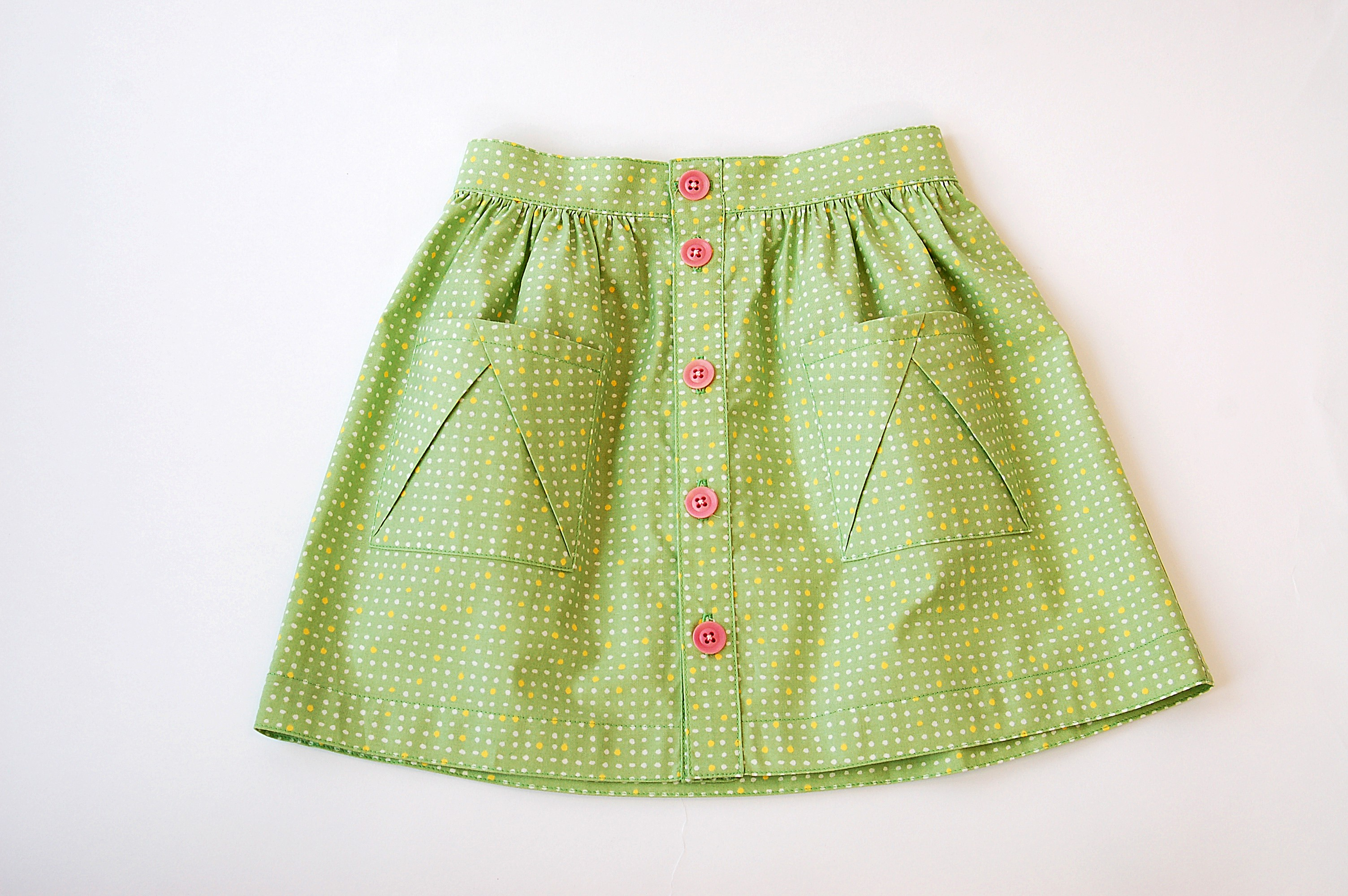 Introducing the Hopscotch Skirt Sewing Pattern | Blog | Oliver + S