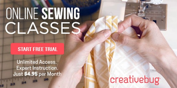 Sewing Workshops with Creativebug