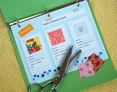 Lisette Swatch Card Set