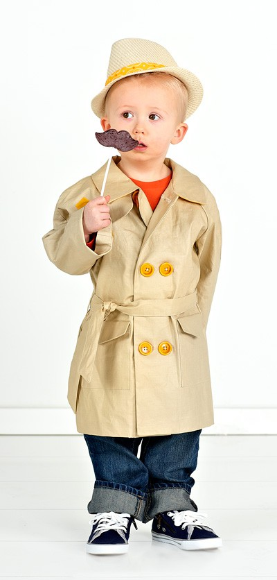 Introducing The Secret Agent Trench Coat Pattern Blog Oliver S