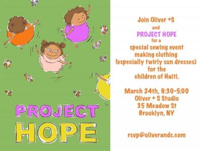Project Hope Invitation