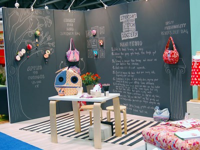 Straight Stitch Society Booth