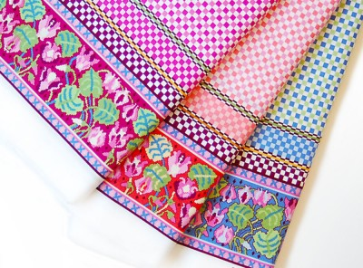 Ladies' Stitching Club Border Print