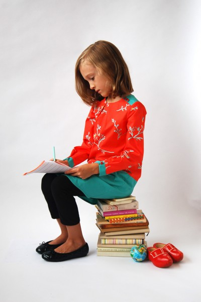 Book Report Dress with Leggings