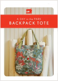 Day in the Park Backpack Tote Pattern