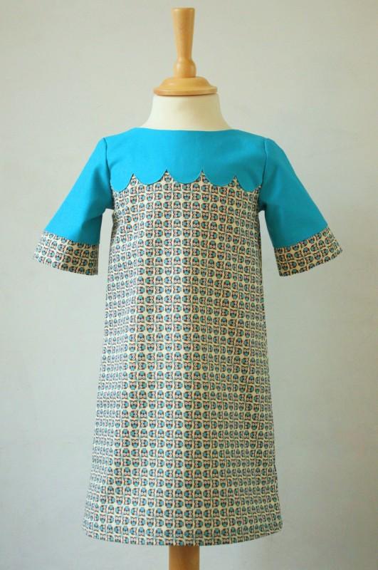 scalloped school photo dress 7