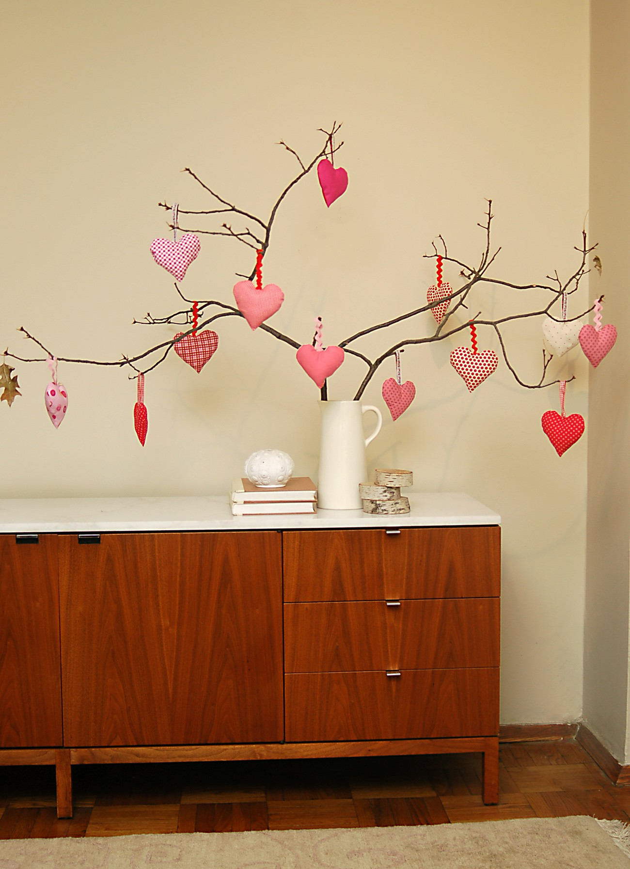Valentine tree ornaments - Valentine Tree 3