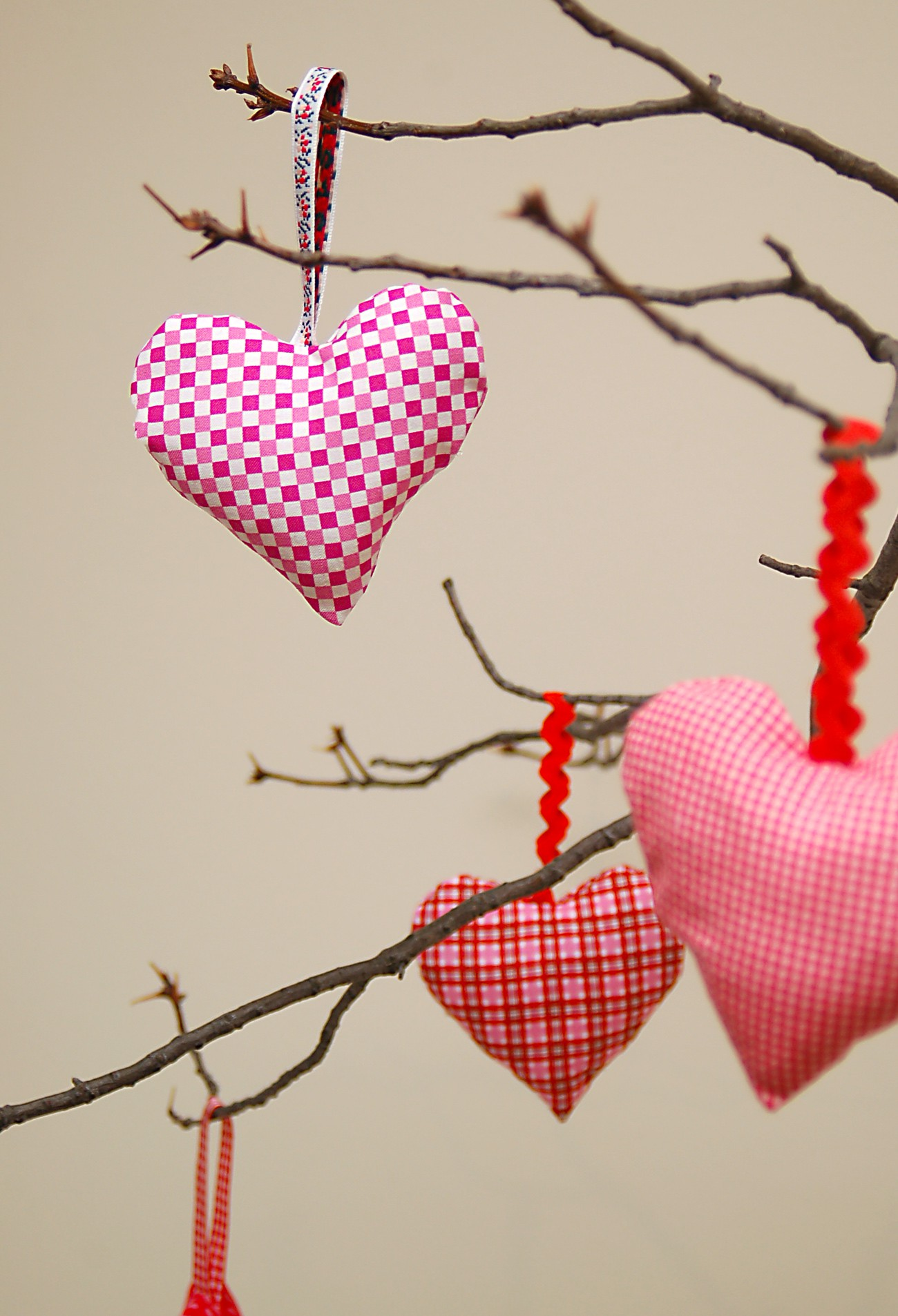 Valentine tree ornaments - Valentine Tree 4