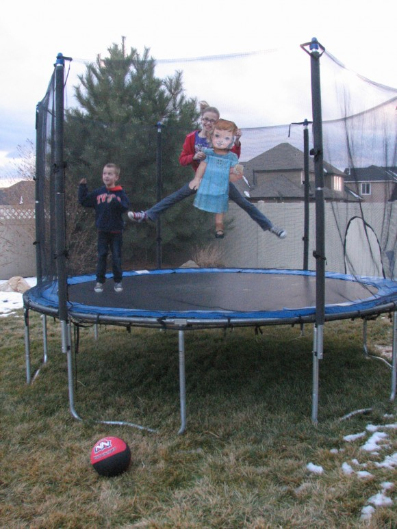 Flat S on the Trampoline