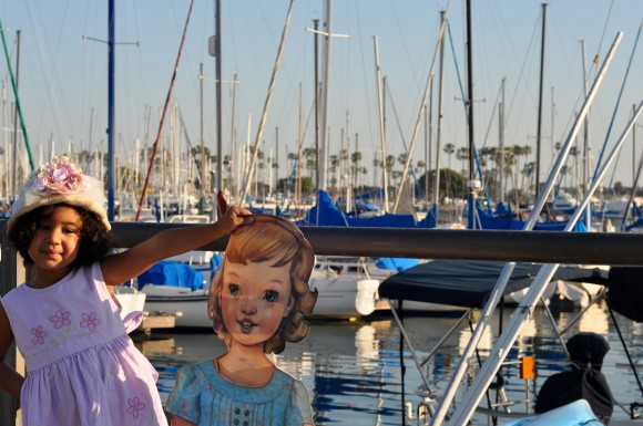 At the boat docks
