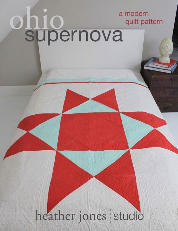 Ohio Supernova Quilt Pattern