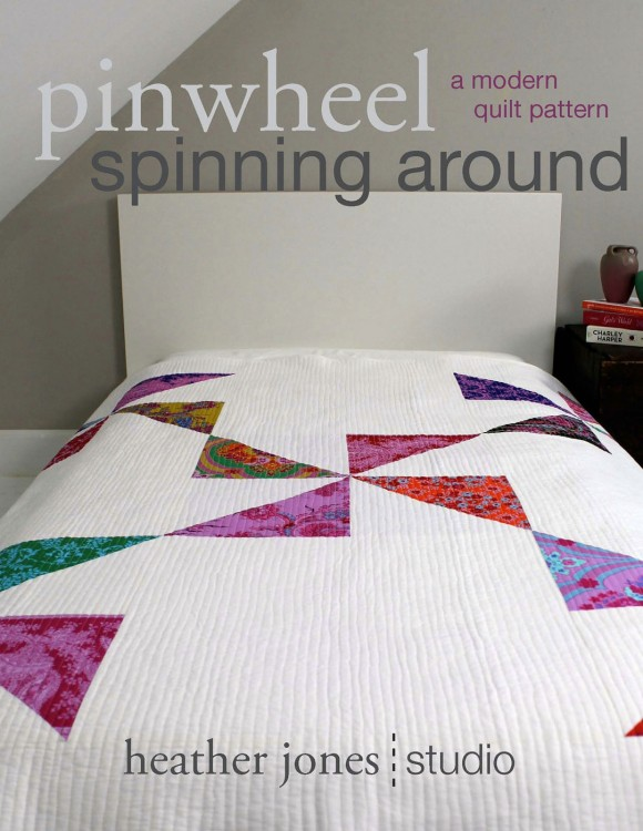 Pinwheel Spinning Around Quilt Pattern