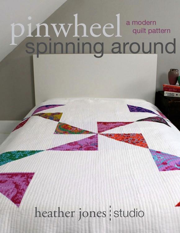 Pinwheel Spinning Around Quilt Pattern