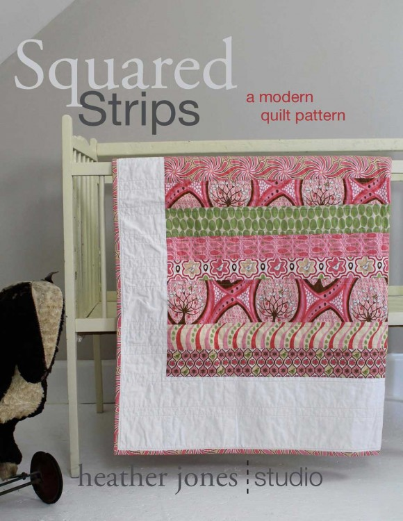 Squared Strips Quilt Pattern