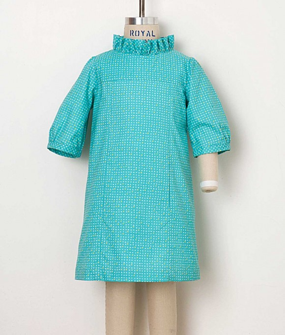 School Photo Dress, View A in Cotton