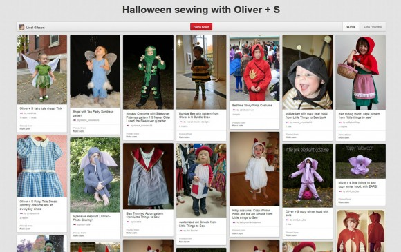 Halloween sewing with Oliver + S