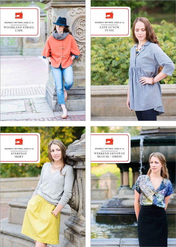 New Liesl + Co. sewing patterns