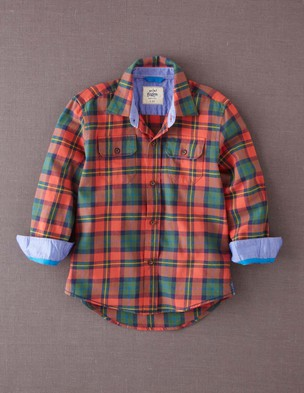 Plaid shirt  boden
