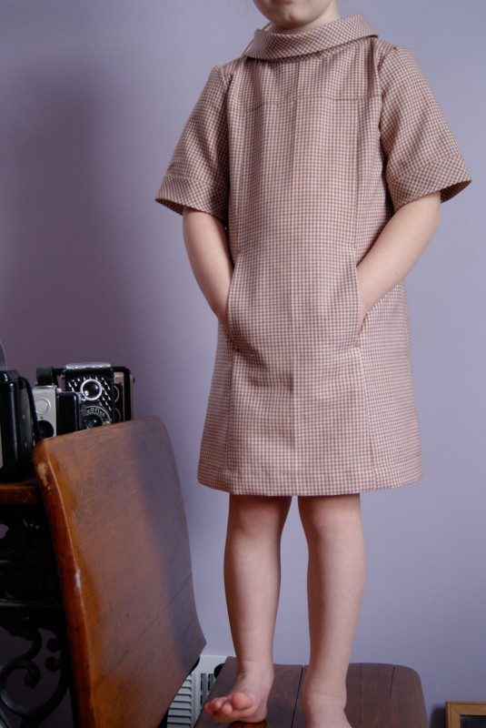 Favorite Pattern by Nest Full of Eggs - School Photo Dress