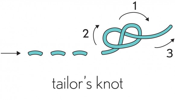 Tailors Knot Illustration