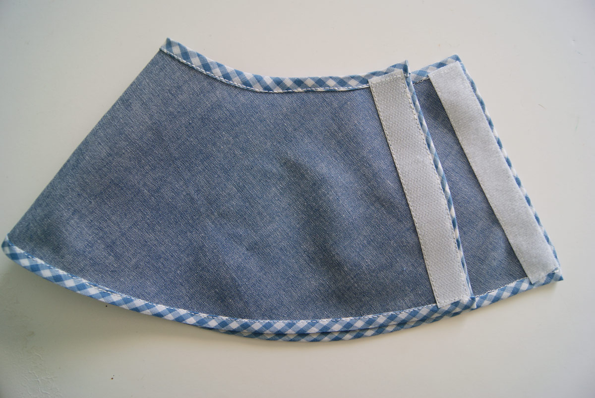 To make the skirt reversible, just take two cut out skirts, put wrong ...