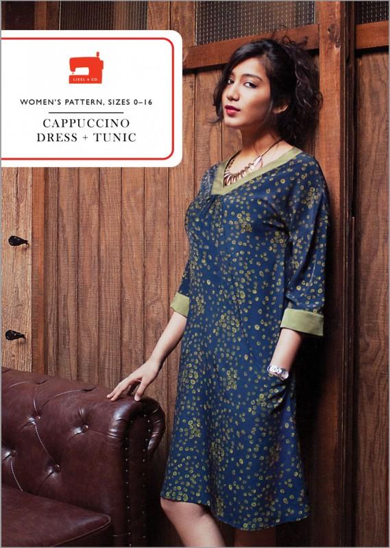 Cappuccino Dress + Tunic Sewing Pattern
