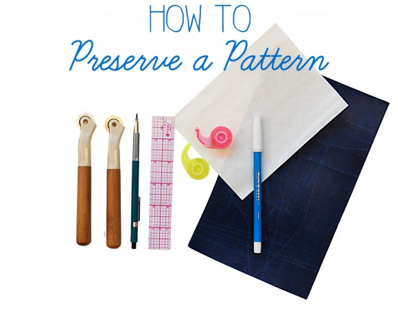 How to preserve a pattern