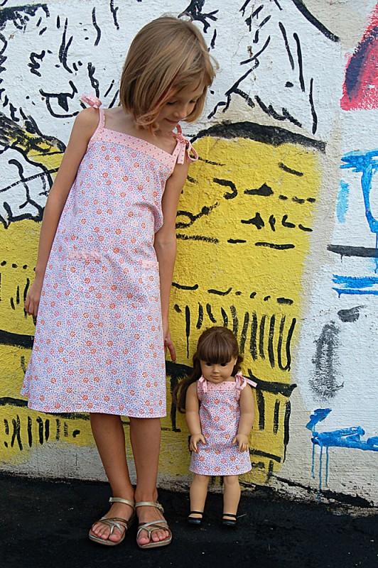Popover Sundress Free Pattern
