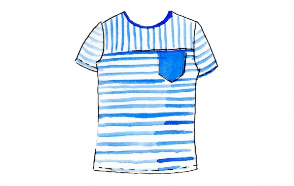 t-shirt-color-blocked-stripes