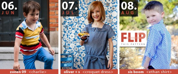 Flip This Pattern July Oliver + S Croquet Dress