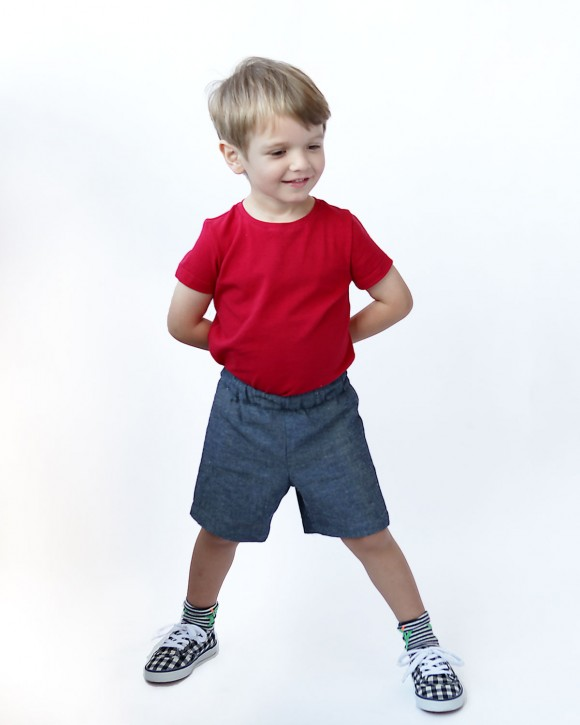 Sunny Day Shorts Free Sewing Pattern
