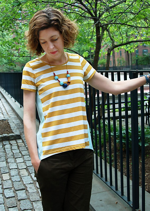 High Low T-Shirt Tutorial