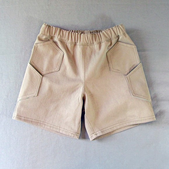 Hexagon Pockets Oliver + S Sunny Day Shorts