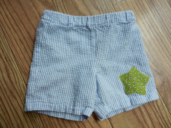 Oliver + S Sunny Day Shorts free pattern star applique