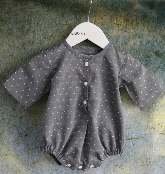 Oliver + S Lullaby Layette bodysuit