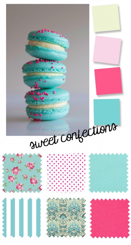 Color Palette: Sweet Confections