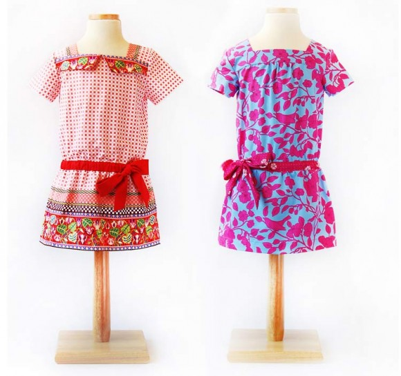 Oliver + S Croquet Dress View A and View B