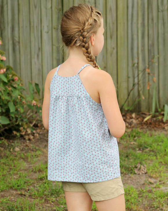 Customized Oliver + S Class Picnic Blouse