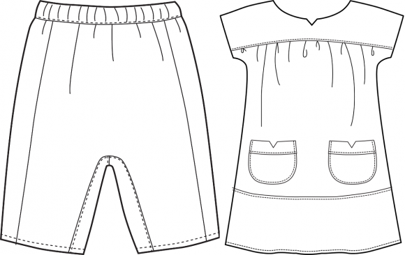 Adding Oliver + S pockets to the Sunny Day Shorts