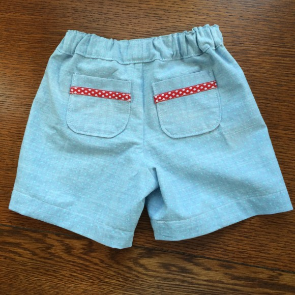 Oliver + S Lullaby Layette pockets on Sunny Day Shorts