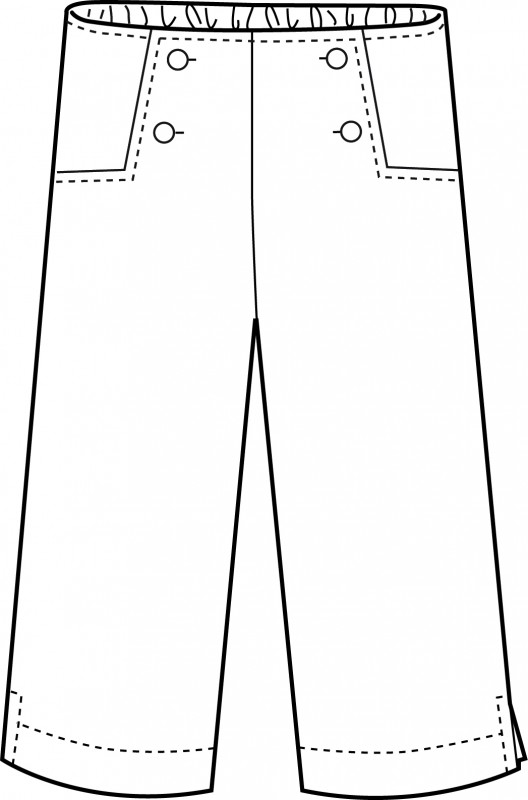 Oliver + S Sailboat Pants