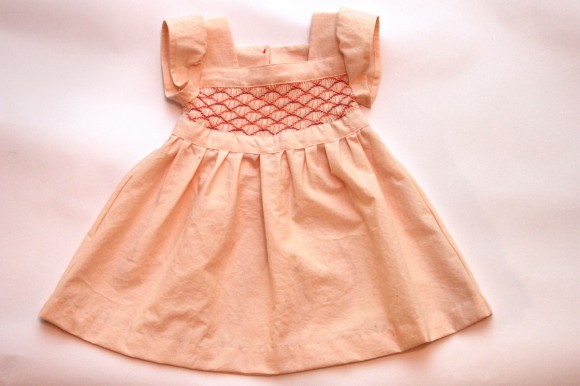 Smocked Oliver + S Garden Party Dress
