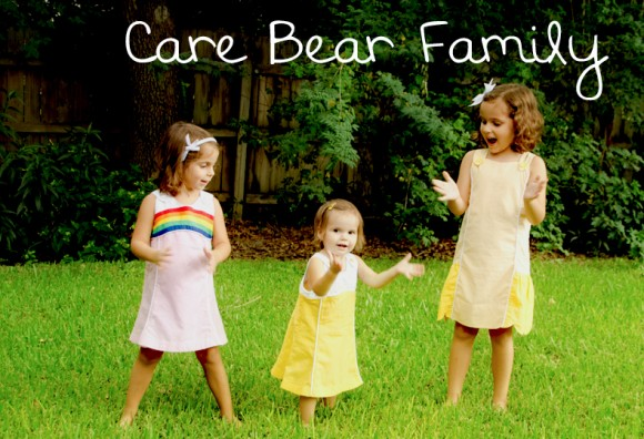 care bear inspired dresses