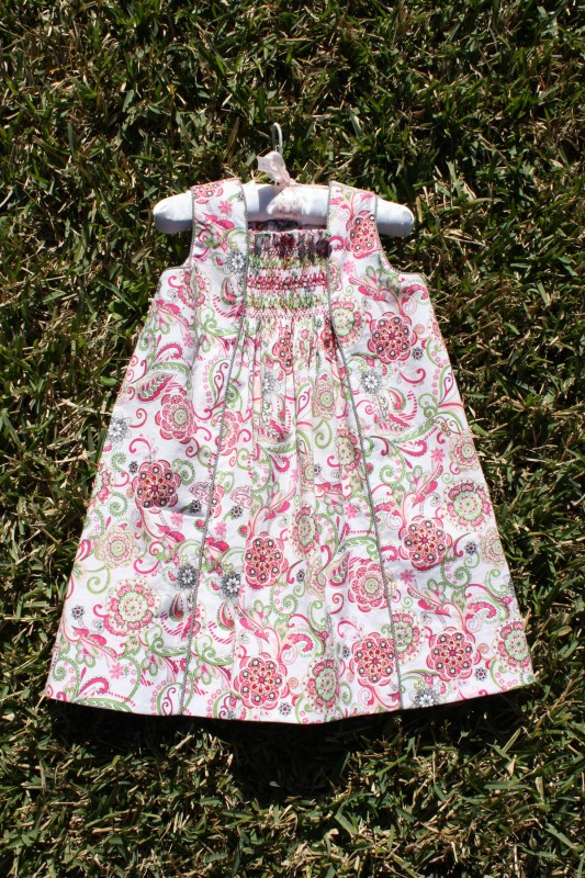 Smocked Oliver + S Birthday Party Dress