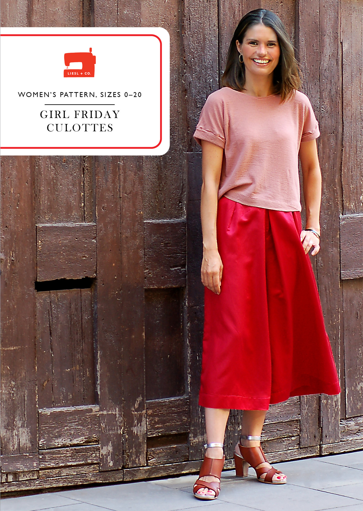 455521879716 Introducing the Liesl + Co Girl Friday Culottes