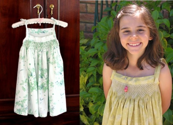 Smocked Oliver + S Popover Sundresses