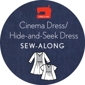 Liesl + Co. Cinema Dress/Hide-and-Seek Dress Sew-Along