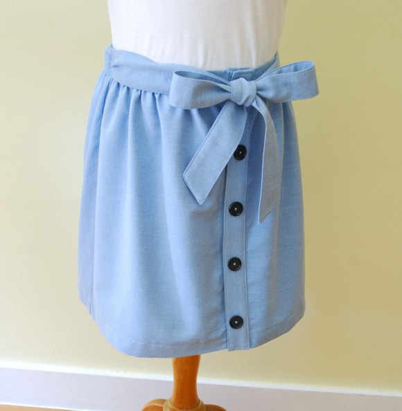 Customized Oliver + S Hopscotch Skirt