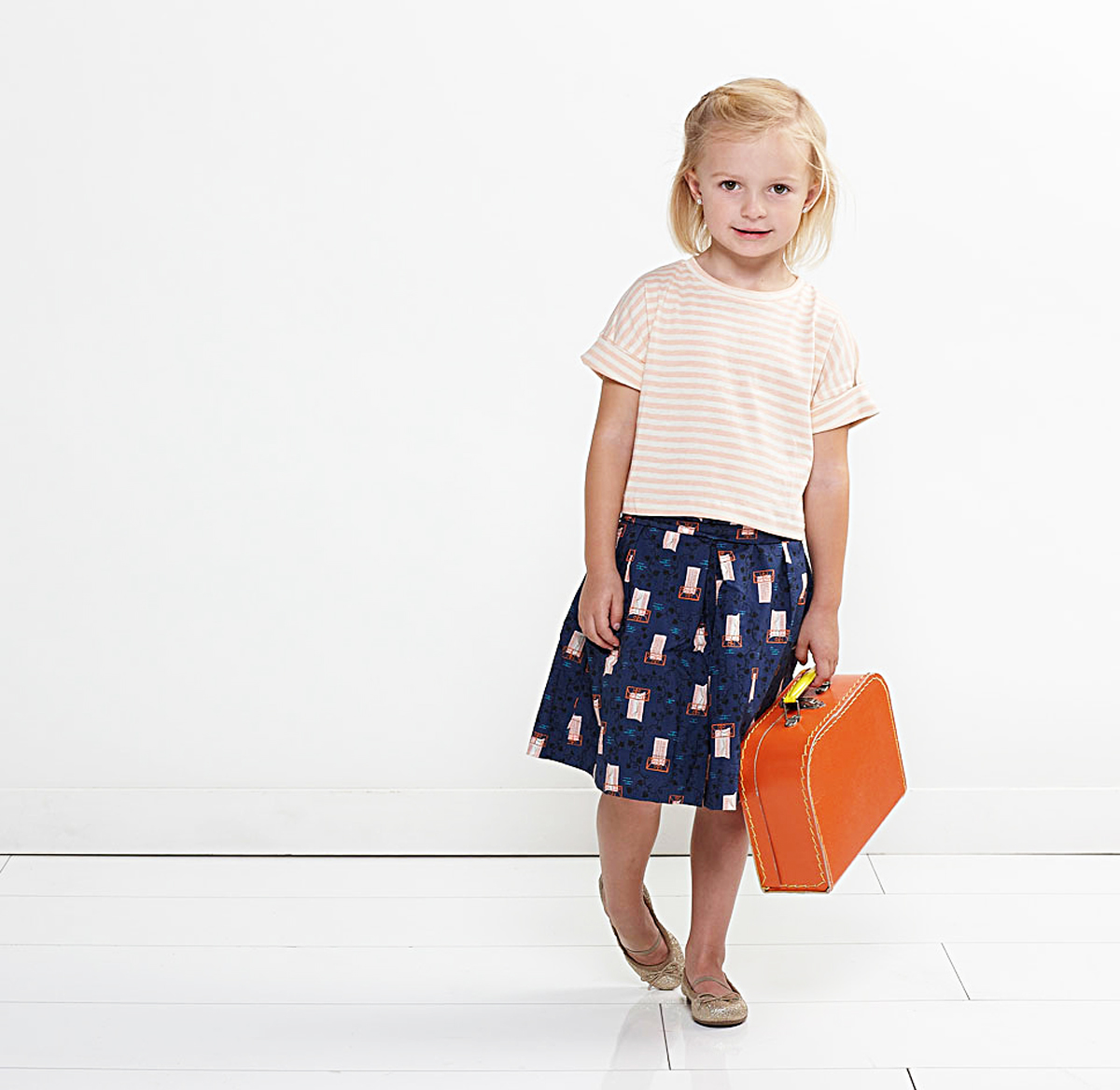 Introducing the Lunch Box Tee + Culottes Pattern